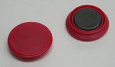 Magnet  červený  25mm(1076000148)