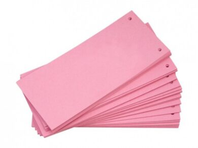 Jazyk do pořadačů 10,5 x 24 cm - růžový(1176000324)