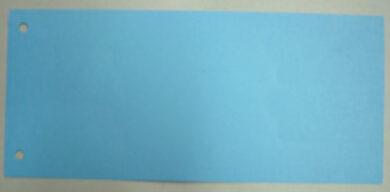 Jazyk do pořadačů - modrý(1176000332)