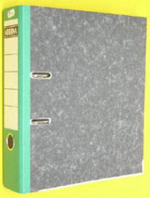 File lever A4 wide 7,5cm, 1 mechanics - backbone green(1176000706)