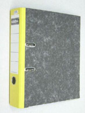 Pořadač pákový  A4  š.7,5cm  -  žlutý hřbet, 1 mechanika(1176000882)