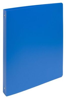 File A4, wide 4cm, plastics, with 2 rings - blue(1176000905)