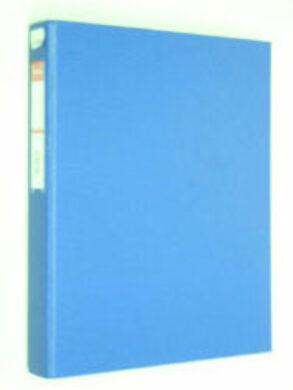 Pořadač Esselte  A4  š.3,5cm  4kroužkový  -   modrý(1176510005)