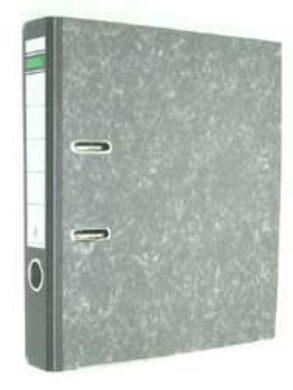 File lever A4 wide 5cm - backbone black(1176510007)