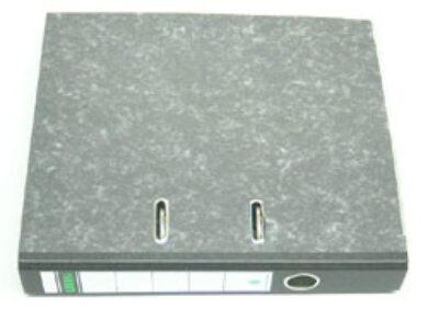 Pořadač pákový A4  7,5cm   černý   (s 1 mechanikou)(1176510008)