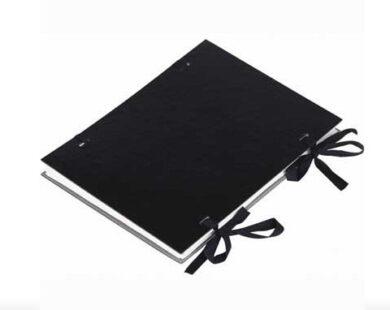 Desky spisové s tkanicí A4 černé (25ks)(1190064118)