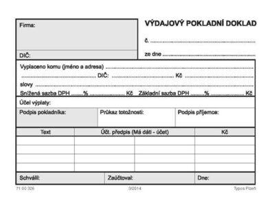 Cash expenditure document(1276010016)