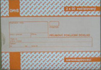 Doklad příjmový pokladní  A6(1276020030)