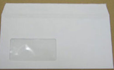 Envelope third with window to left  (1276700001)