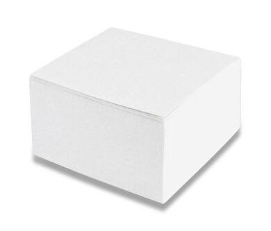 Kostka poznámková - bílá nelepená(1276920079)