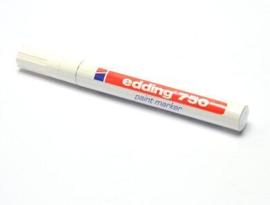 Popisovač Edding -  750  bílý   (silný )(1376151764)