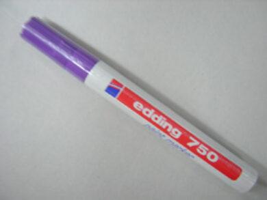Popisovač Edding - 750  fialová   ( silný )(1376151767)