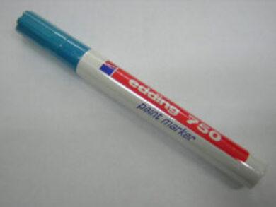 Popisovač Edding -  750  světle modrý   ( silný )(1376151773)