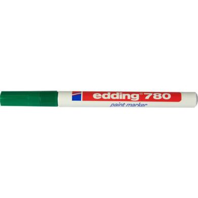 Popisovač Edding  - 780  zelený   ( slabý )(1376151980)