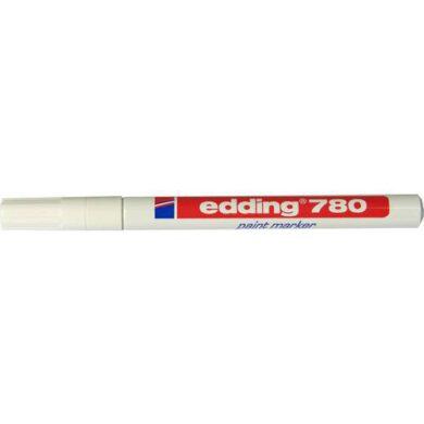 Popisovač Edding  - 780  bílý   ( slabý )(1376151981)