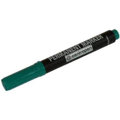 Marker Centropen 8566 - green  (1376170085)