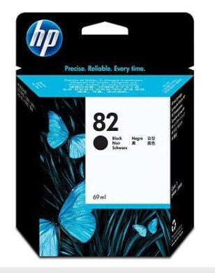 Náplň inkoustová CH565A black 69ml  HP 82(1476002498)