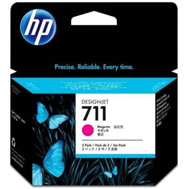 Náplň inkoustová HP 711  CZ135A 3x29ml magenta(1499900276)