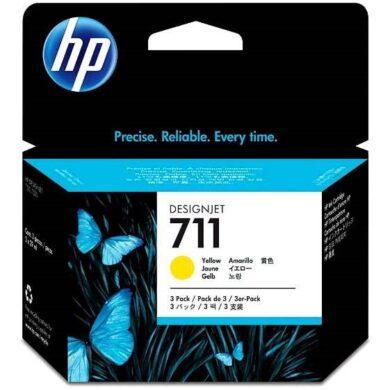 Náplň inkoustová HP 711  CZ136A 3x29ml yellow(1499900278)