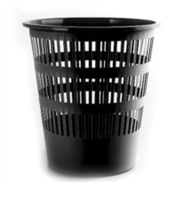 Waste bin 13,5L - black(1580230081)
