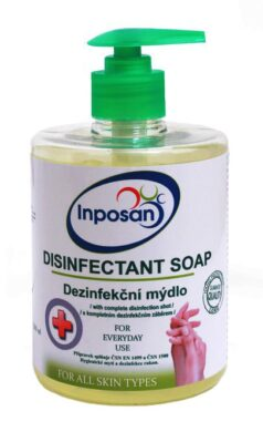 Mýdlo dezinfekční  tekuté Inposan 500ml(1686700110)