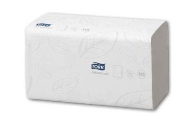 Ručníky papírové Z TORK Singlefold, bílé, 2-vrstvé(1686700251)