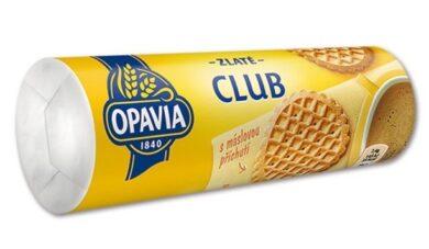 Sušenky Zlaté CLUB - máslové, 140g(1786000955)