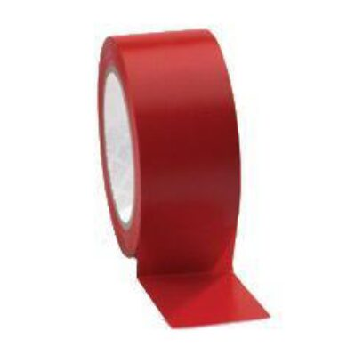 Tape on floor PVC 50mmx33m red  (1885000264)