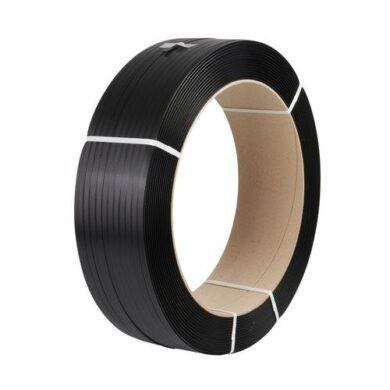 Binding tape black 15x0,8mm/1500m  d.406  (1889001487)
