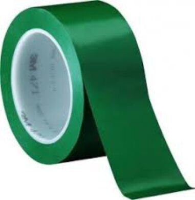Tape on floor PVC width 50mmx30m green  (1891920078)