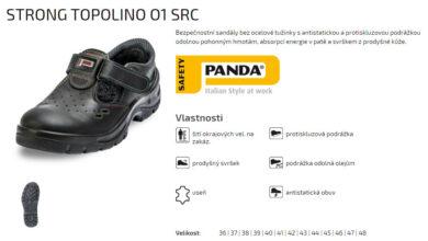 Sandál Strong Topolino O1 SRC vel.42(2189002364)
