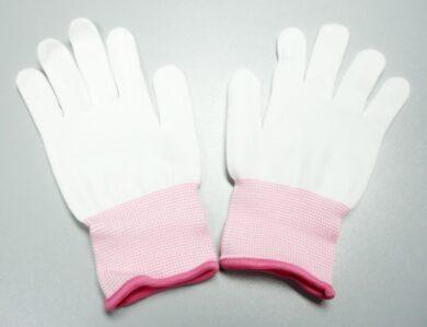 Gloves from nylon  135010 BOBBY   size XS(2372171109)