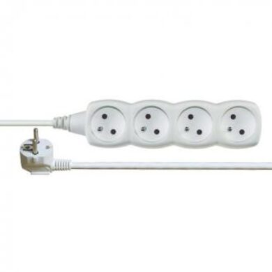 Extension cabel with 4 mains outlet - 3m(3187780003)