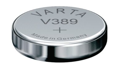 Baterie Varta  V389  1,55 V  Silver(3587553843)