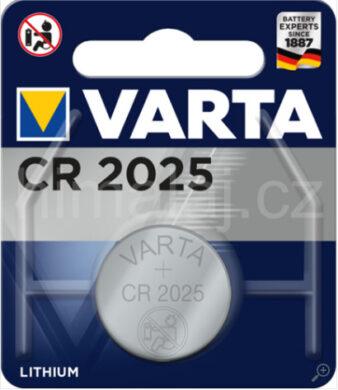 Battery Varta CR 2025 3V(3589010244)