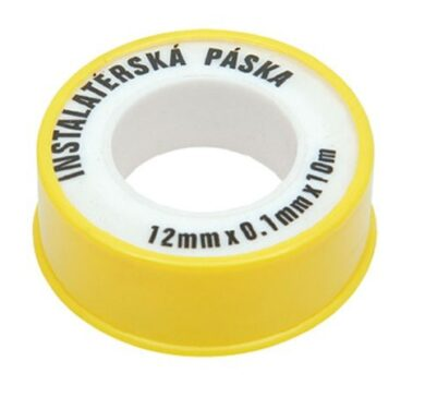 Páska teflonová 12mm x 0,1mm x 10m(4099001060)