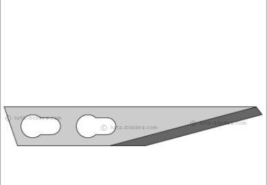 Čepel náhradní pro nůž SALTUS červený   100ks(4189000124)