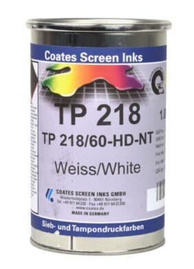 Tampoprintfarbe TP218/60 HD weisse, 1L(8371002153)