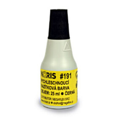 Colour in stamp NORIS  25ml - black  (8371202105)