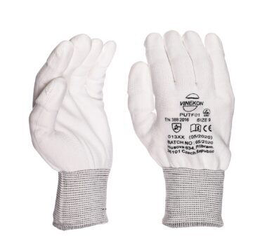ESD rukavice antistatické velikost  M/8(9600000002)