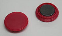 Magnet 25mm - red