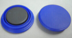 Magnet 25mm  blue