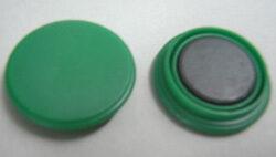 Magnet  zelený  25mm