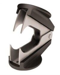 Eliminator on paper clips Office Depot - black