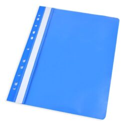 Self-binder A4 with euro punch - blue