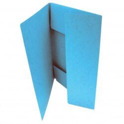 Desky A4 se 3 chlopněmi  -  modré-Balení 50ks
