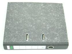 Pořadač pákový A4  7,5cm   černý   (s 1 mechanikou)
