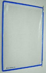 Kapsy A4 Tarifold MODRÉ (shora otevřené)  1bal/10ks-Barevné kapsy formátu A4 pro přehledné umístění dokumentů. Balení obsahuje 10 ks kapes a navíc  5 plastových popisek, kterými lze  kapsy dále odlišit.