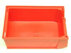 Nádoba plastová Silafix  4  č.3-365  -  červená-230/200x147x132mm