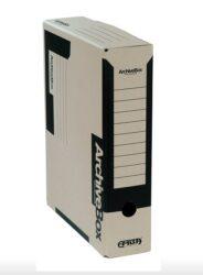 Box archivační Emba 7,5 x 33,0 x 26,0 cm černý (5ks)-Dodáváme rozložené.